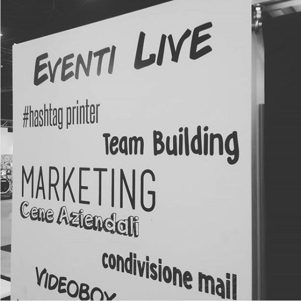 Hashtag printer services